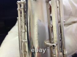 1925 vintage C G Conn alto saxophone high pitch with Selmer Steelay mouthpiece