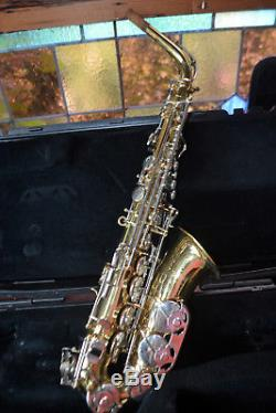 4 Selmer As300 Alto Saxophones With Case And Mouthpiece Plays Well! $1000