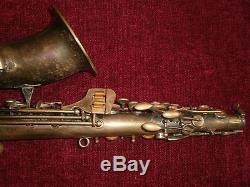4-digit Conn 50M Alto Saxophone with matching Otto Link Slant blank mouthpiece
