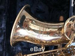 Alto Saxophone Blessing With Case And Mouthpiece