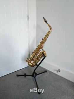 Alto Saxophone Elkhart Series 2 with case, upgraded mouthpiece and music books