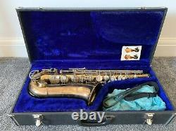 Alto Saxophone King Cleveland 613 with hard case and strap