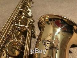 Artemis MKIII Alto Saxophone with Selmer Mouthpiece & Pure Tone Music Stand