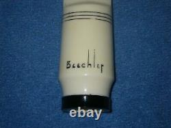 BEECHLER DIAMOND DOT ALTO SAXOPHONE MOUTHPIECE with# BRIAN POWELL REFACE. 074