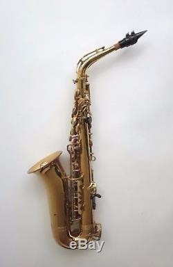 Buffet Evette Crampon Alto Saxophone Serial No. 608032 with Yamaha Mouthpiece