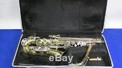 Bundy Selmer II Alto Saxophone with mouthpiece, hardcase made in USA