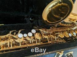Cannonball Excalibur Student Alto Saxophone w case and 2 mouth pieces