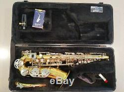 Conn 24M USA Alto Saxophone with Original Case and Yamaha 4c Mouthpiece
