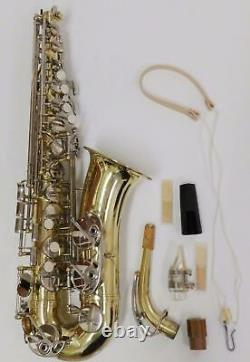 EM Winston Boston Alto Saxophone with Mouth Piece and Hard Case