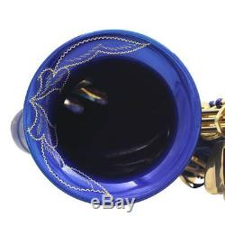 Eb E-Flat Alto Sax Saxophone with Carrying Case Mouthpiece Cloth Grease Strap