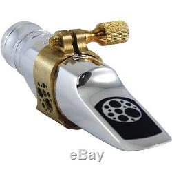 Ever-Ton Strength #8 Metal Silver Plated Alto Sax Mouthpiece Made in Brazil