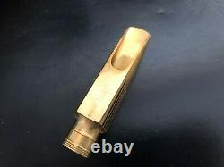 Freddie Gregory metal Alto Mouthpiece Fluted model 7 tipsize RARE, INCREDIBLE