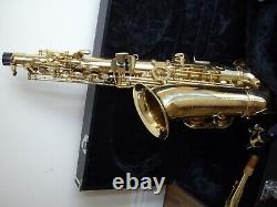 Intermusic Alto Saxaphone brass lacquered easy played made for beginners