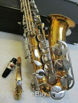 King 660 USA Alto Saxophone with Mouthpiece with Case