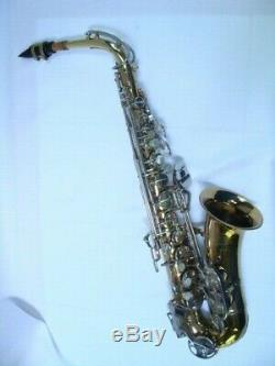 L@@K Alto Saxophone with EXTRAS SELMER-BUNDY II Eb with Hard Case and MOUTHPIECE