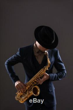 New Alto Saxophone with case mouthpiece Instrument Music