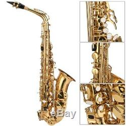 New Tone Alto Saxophone Premium Quality With Case Strap Gloves Mouth Kits New