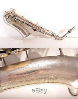 Old Rare Alt /Alto Saxophone Hueller/Huller+mouthpiece-=Made in Germany=-Vintage