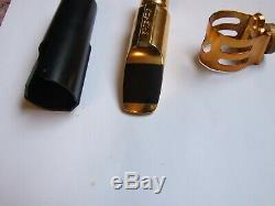 Otto Link 8 metal mouthpiece for ALTO sax, tried once from new, good condition
