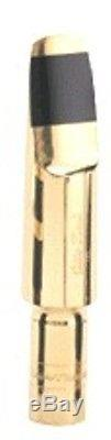 Otto Link Alto Saxophone Mouthpiece Super Tone Master Metal Gold Plated #6