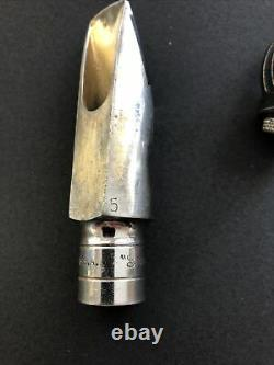 Otto Link STM #5 Metal Alto Saxophone Mouthpiece From The 70s! Rare Funk Band