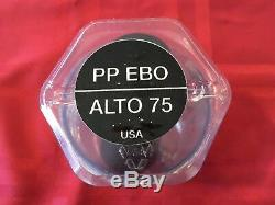 Peter Ponzol Ebo Alto Saxophone Mouthpiece Hard Rubber. 75 Tip Opening