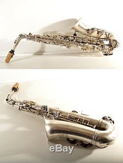 Rare TOP Alt /Alto Saxophone B&S Blue Label+mouthpiece-=Made in Germany=-Vintage