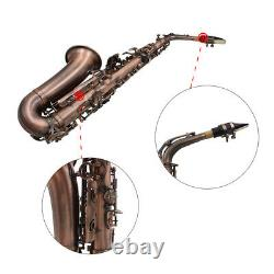 Red Bronze Alto Saxophone Eb E-flat Sax with Case Mouthpiece Kit for Beginner UK