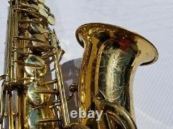 Sax Conn Shooting Stars Eb Alto Saxophone With Mouthpiece and Case