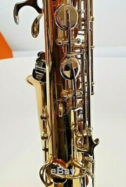 Selmer As300 Gold Lacquer Alto Saxophone With Mouthpiece And Travel Case