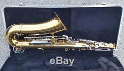 Selmer Bundy II 2 Alto Saxophone with Hard Case, 2 Mouthpieces, Strap & Extras