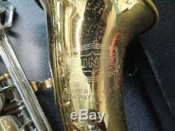 Selmer Bundy II Alto Saxophone with Case and Mouthpiece