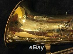 Selmer Bundy II Saxophone With Case, Mouthpiece, Ligature, and Reeds