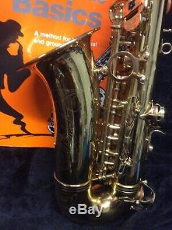Sonata Student Alto Saxophone With Case Mouthpiece And Accessories
