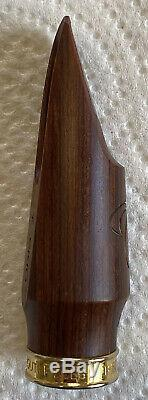 Theo Wanne Amma 7 STABLE WOOD Alto Saxophone Mouthpiece RARE! EXCELLENT