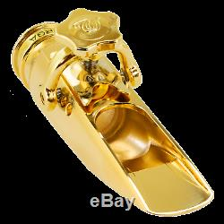 Theo Wanne Durga3 Alto Saxophone Metal-24k Gold Plated Mouthpiece (any facing)