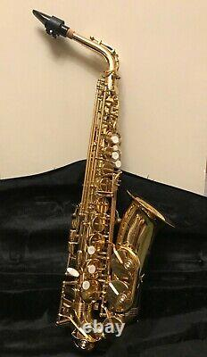 Trevor James Alto Saxophone -The Horn Classic II Gold Lacquer Finish