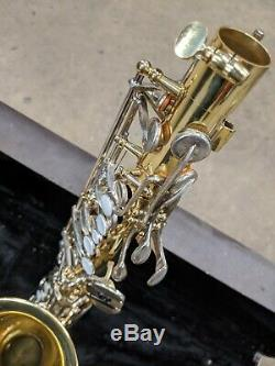 USED Yamaha YAS23 Alto Saxophone with Hard Case, Strap, Mouthpiece +accessories