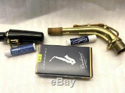 Used Yamaha Alto Saxophone Yas-275 Japan With Hard Case Mouthpiece Gold Lacquer