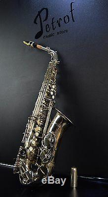 Very Good Vintage Rare TOP Alt/Alto Saxophone Original Stewart Ellis+Mouthpiece