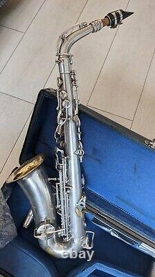 Vintage Alto Saxophone, 1930's hand made, with the original mouthpiece