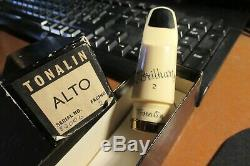 Vintage Brilhart Tonalin Vintage ALTO Mouthpieces from 1940s