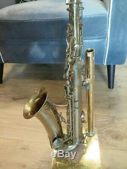 Vintage Buffet Crampon Evette Schaeffer Saxophone with Neck Mouthpiece and Case