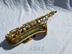 Vintage Conn Shooting Stars Tenor Saxophone With Mouthpiece and Case