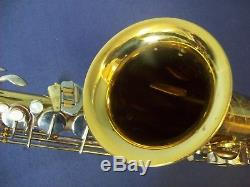 Vintage Convair Tenor Saxophone Made In Western Germany + Mouthpiece Nice