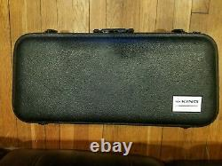 Vintage KING 660 Alto Saxophone with Hard Case and Mouthpiece