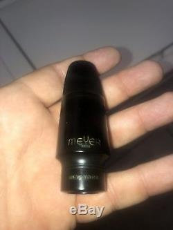 Vintage Meyer Bros New York 4M Small Chamber Alto Saxophone Mouthpiece