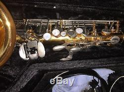 Vito Alto Saxophone with Hard case and mouthpiece Made in Japan