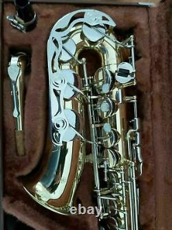 Yamaha YAS23 Alto Saxophone in EX Plus condition, Selmer 80 Mouthpiece. Japan