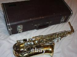 Yamaha YAS 23 Alto Saxophone With Mouthpiece, Strap, Reed, Plays Great